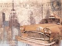 Manhattan Cab Fine-Art Print