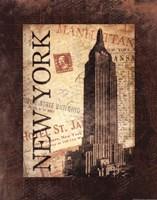 New York Postale Fine-Art Print