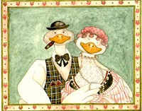 The geese Family III Fine-Art Print
