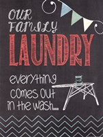 Family Laundry Fine-Art Print