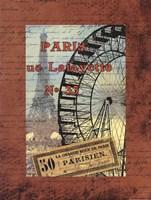 Grande Roue de Parise Fine-Art Print