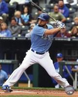 Eric Hosmer Baseball Hitting Pose Fine-Art Print