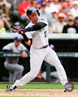 Troy Tulowitzki Baseball Swing Fine-Art Print