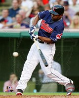 Michael Bourn 2014 Batting Action Fine-Art Print