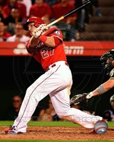 Mike Trout 2014 Baseball Action Fine-Art Print