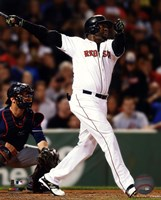 David Ortiz on field 2014 Fine-Art Print