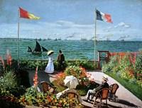 The Terrace at Sainte-Adresse, 1867 Fine-Art Print