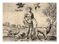 The Greek God Apollo Fine-Art Print