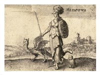 The Greek Gods Minerva Fine-Art Print
