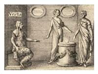 The Greek Gods Vesta Fine-Art Print