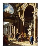 Alexander the Great Cutting the Gordian Knot Fine-Art Print