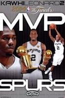 2014 NBA Finals - MVP Wall Poster