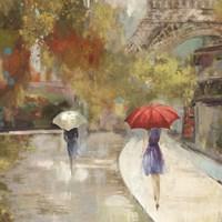 Sunlight Avenue I - Mini Fine-Art Print