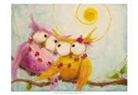 Hoo's Bound by Love Fine-Art Print
