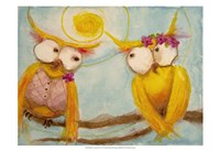 Hoo's Branch for Two Fine-Art Print