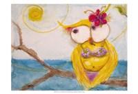Ms. Hoo in Paradise Fine-Art Print