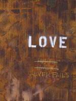 Love Never Fails I Fine-Art Print