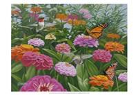 Zinnia Bouquet Fine-Art Print