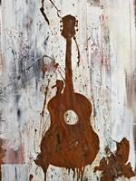 Rust Guitar Fine-Art Print