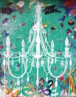 Emerald Chandelier Fine-Art Print