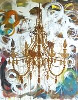 Rust Chandelier Fine-Art Print