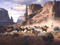 Sandstone & Stolen Horses Fine-Art Print