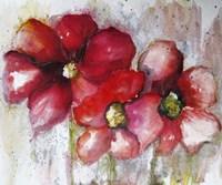 Fuchsia Poppies II Fine-Art Print