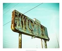 Vintage Motel I Fine-Art Print