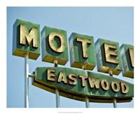 Vintage Motel III Fine-Art Print