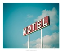 Vintage Motel IV Fine-Art Print