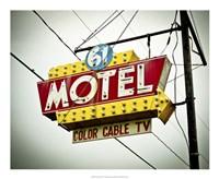 Vintage Motel V Fine-Art Print