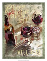 Cheese, Wine and Friends Fine-Art Print