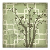 Silhouette & Pattern III Fine-Art Print