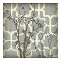 Silhouette & Pattern V Fine-Art Print