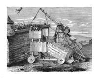 Fire Catapult Fine-Art Print