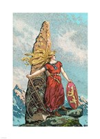 Nationalism Viking Cultivation Fine-Art Print