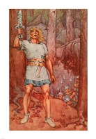 Beowulf, A Book of Myths Fine-Art Print