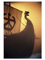 A ancient Viking Ship, Sweden Fine-Art Print