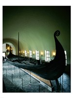 Oseberg Ship Viking Ship Museum Oslo Norway Fine-Art Print