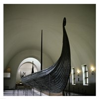 9th Century Viking Ships Oslo, Norway Fine-Art Print
