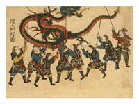 Chinese Dragon Dance Fine-Art Print