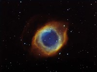 Helix nebula in Aquarius (NGC 7293) Fine-Art Print