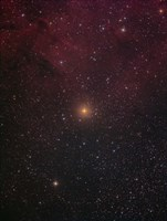 Mu Cephei, a red supergiant in the constellation Cepheus Fine-Art Print