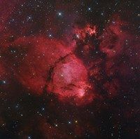 NGC 896 in the Heart Nebula in Cassiopeia Fine-Art Print