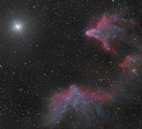 IC 59 and IC 63 in Cassiopeia Fine-Art Print