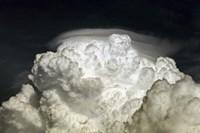 Cumulus Congestus cloud with Pileus Fine-Art Print