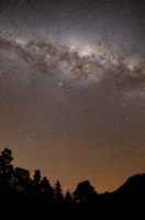 The center of the Milky Way above the Sierras, Argentina Fine-Art Print
