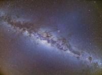 Full frame view of the Milky Way from horizon to horizon Fine-Art Print