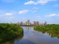 Skyline of Richmond, VA Fine-Art Print