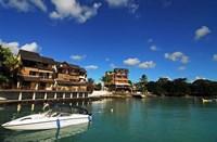 Anchored Boats, Grand Baie, Mauritius Fine-Art Print